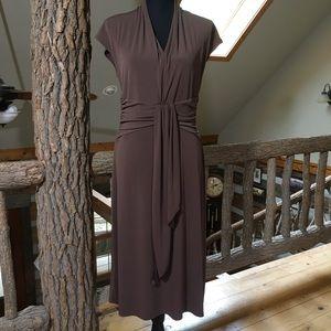 BCBG Paris Brown Dress